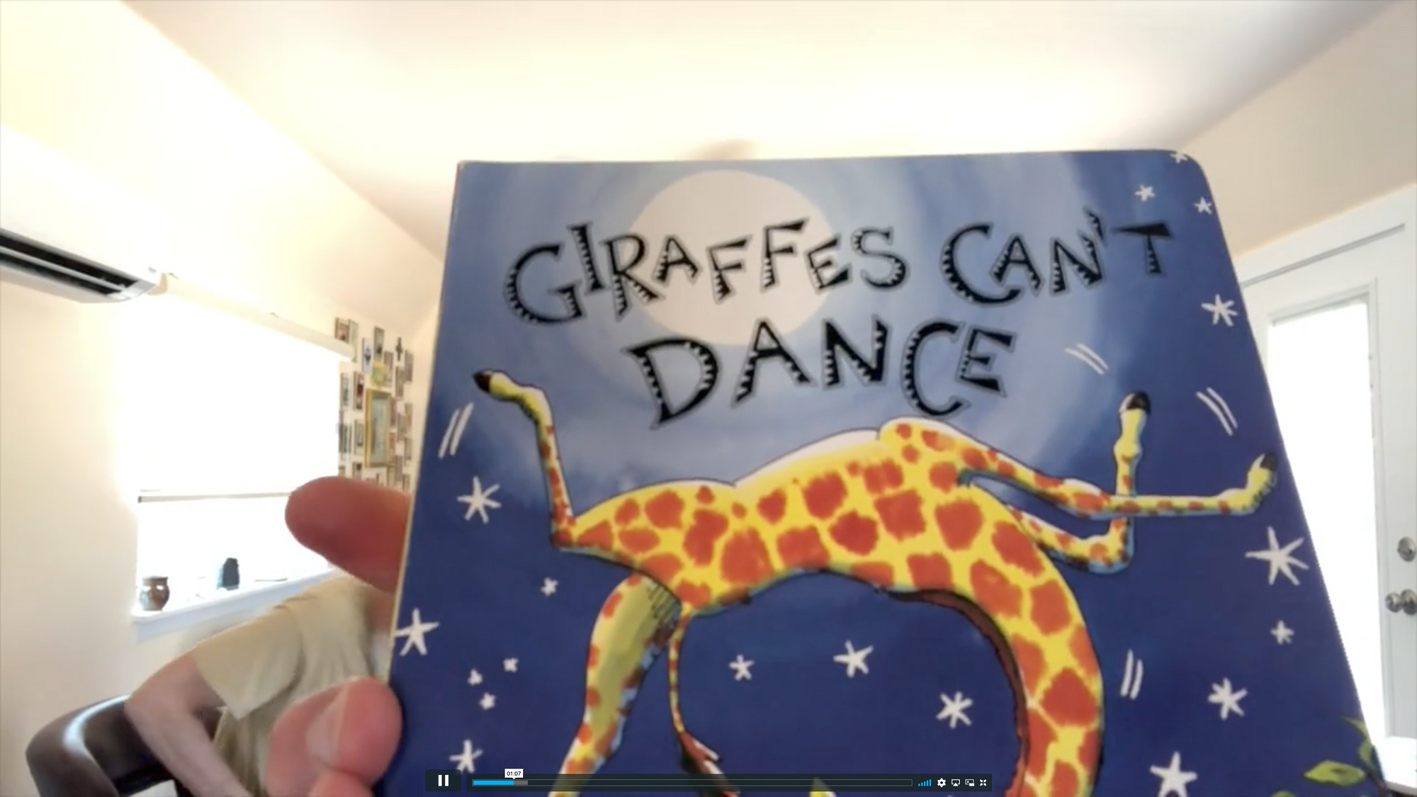 "Read Aloud, June 2: ""Giraffes Can't Dance"""