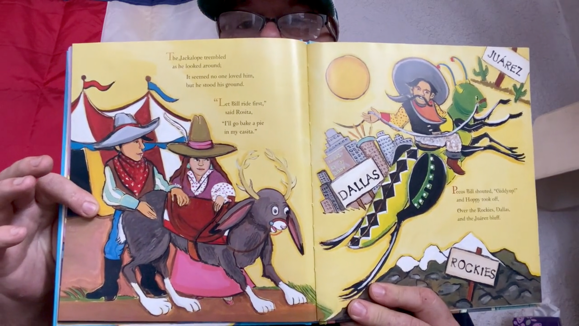"Read Aloud, June 3: ""Juan and the Jackalope"""